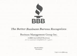 Member of the BBB