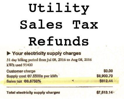 Utility Sales Tax